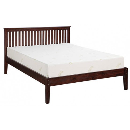 New Port Solid Pine Bed 2 Colors
