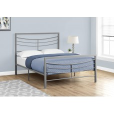 Sway Grey  Metal Frame Bed 3 Sizes From