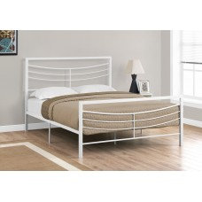 Sway White Metal Frame Bed  3 Sizes From