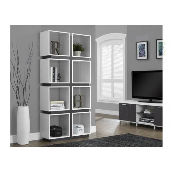 Dover Bookcase White