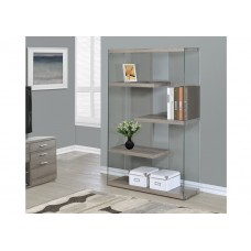 Nova Large Bookcase Dark Taupe