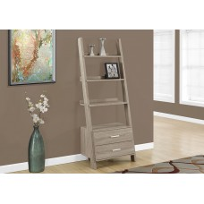 Olga Bookcase Dark Taupe
