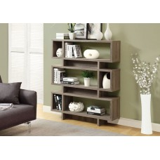 Oslo Bookcase Dark Taupe