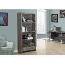 Rave Bookcase Dark Taupe