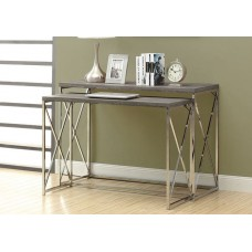 Diva Console / Desk Table  Set Dark Taupe