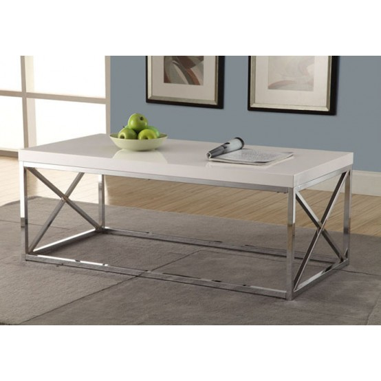 Diva Coffee Table  Glossy White