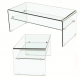 Ghost Condo Coffee Table With Shelf