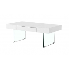 Lilly Coffee Table  Glossy White