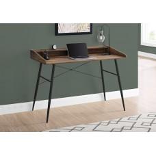 "Alen Computer Desk - 48""L / Brown Reclaimed Wood / Black Metal"
