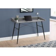 """Alen Computer Desk - 48""""L / Grey Reclaimed Wood / Black"""