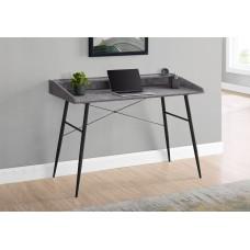 """Alen Computer Desk - 48""""L / Grey Stone Look / Black"""
