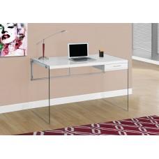 Nova Office Desk Glossy White