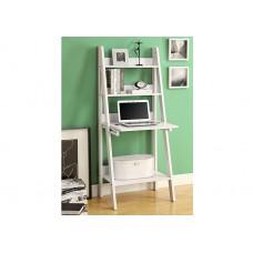 Organic Ladder Office Desk White