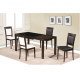 Brazil Extendable Table With 4 Chairs SET