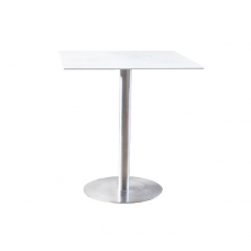 """Hurricane Dining Table  Marble Look 30"""" Square"""