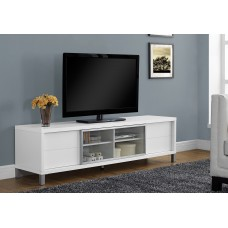 """LACE TV STAND - 70""""L / WHITE EURO STYLE"""