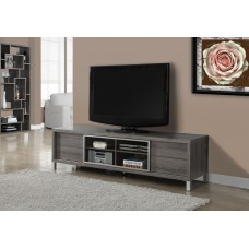 """LACE TV STAND - 70""""L / DARK TAUPE EURO STYLE"""