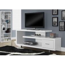 Jade  TV Stand White
