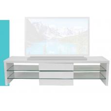 """Macro TV Stand– 55""""L / Glossy White"""