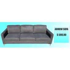 Arrow (Charcoal) Sofa, Love-seat, or Chair