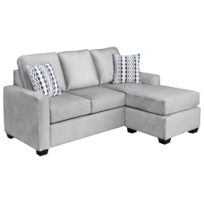 Nordel Sofa Bed With Reversible Lounge Bed Queen 2 Colors