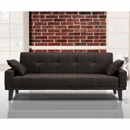 Alpha  Sofa Bed Dark Brown