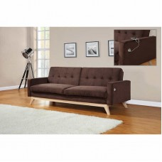 Beta Sofa Bed Dark Brown