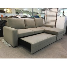 Comox Sofa Bed Grey / Reversible/ Storage