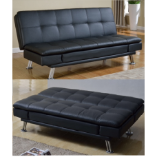 Drake Click-Clack Sofa Bed Black