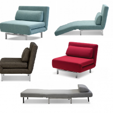 Iso Swivel Chair Sofa Bed 4 Colors