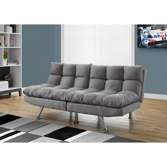 Oreo Click-Clack Sofa Bed Grey