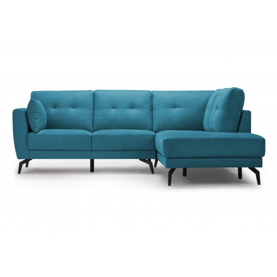 Ricki Sectional Left or Right / Aqua Blue