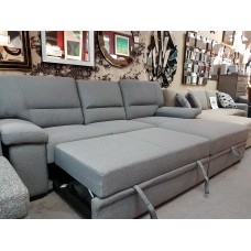 Seville Sofa Bed /  Storage / Grey