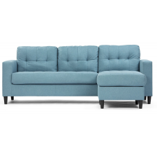 Victoria Sofa with Reversible Lounge 3 Colors